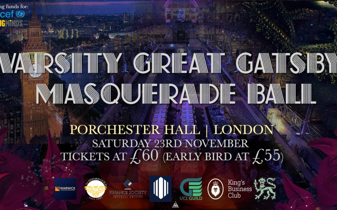 Great Gatsby Masquerade Varsity Ball