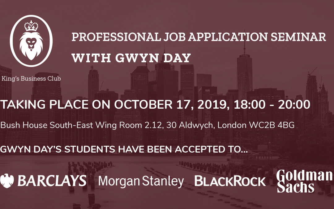 Professional Job Application Seminar
