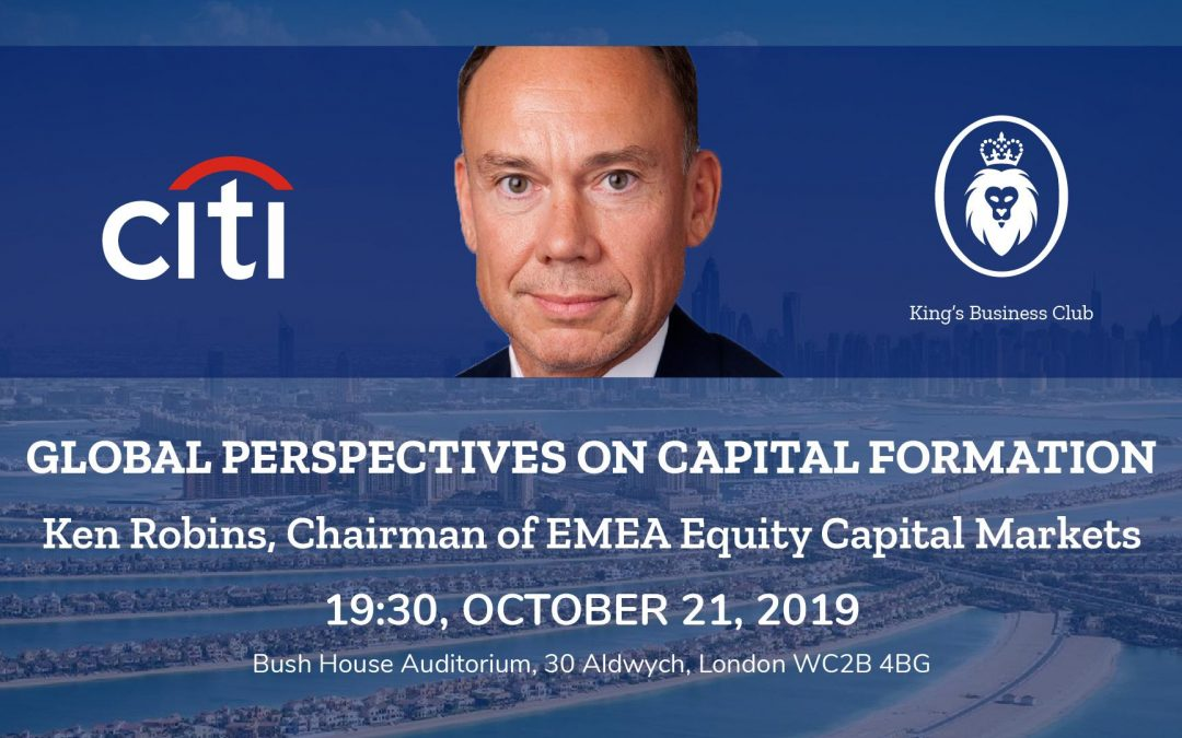 Global Perspectives on Capital Formation with Ken Robins (Citi)