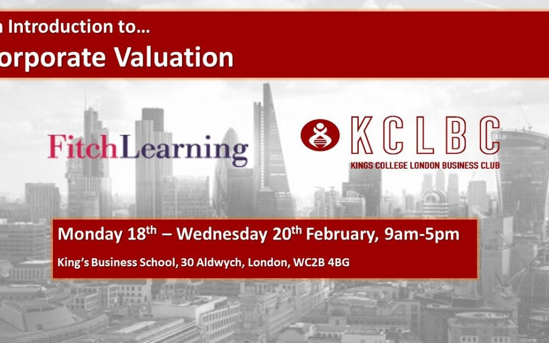 Fitch Learning Corporate Valuation Course 2019
