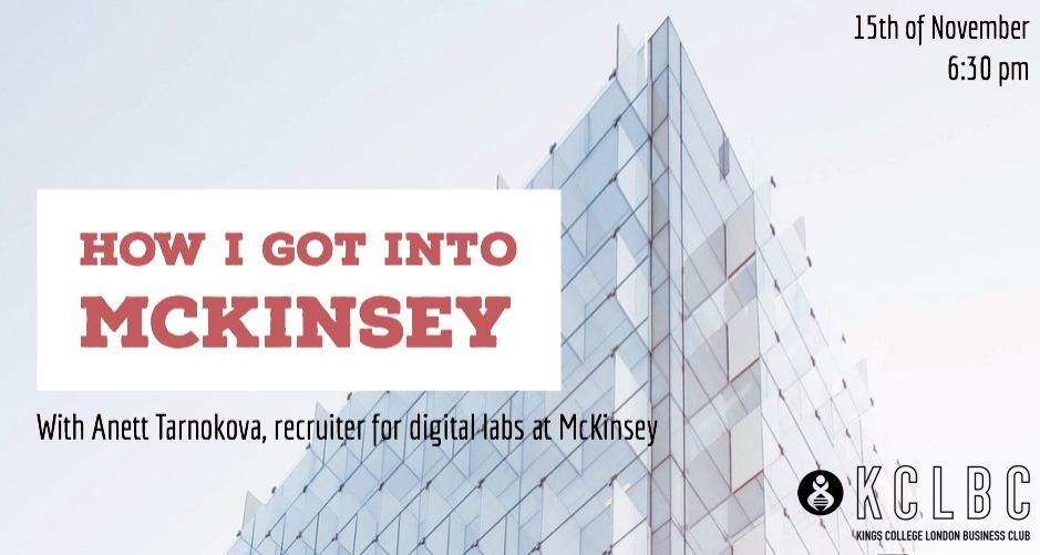 How I got into McKinsey