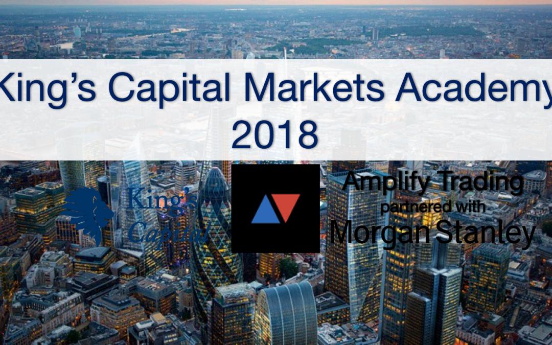 King's Capital Markets Academy 2018