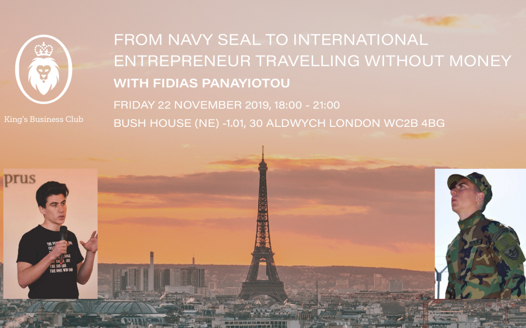 Navy Seal, Entrepreneur, Travelling 20 Countries Without Money
