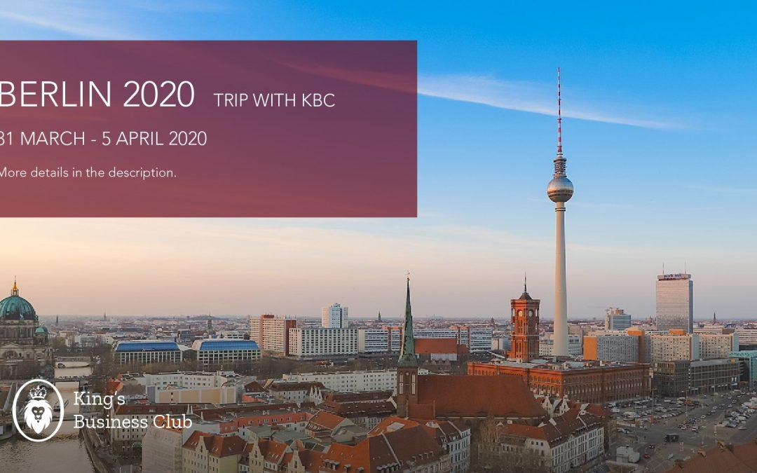 KBC visits Berlin 2020