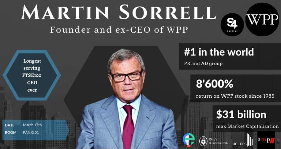 World's King of PR: Sir Martin Sorrell