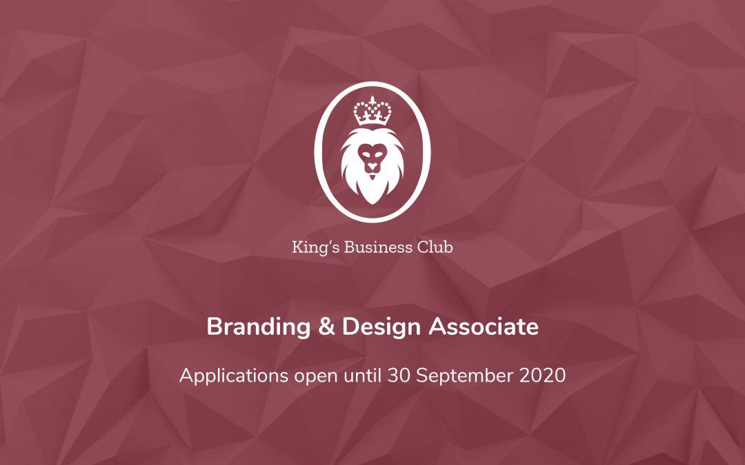 Branding & Design Associates Wanted