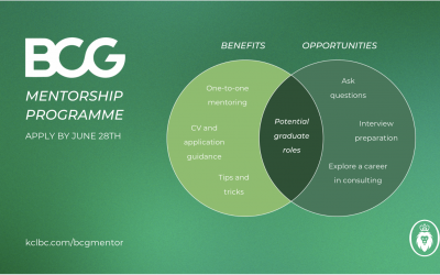 BCG have launched the 2021 Mentorship scheme!