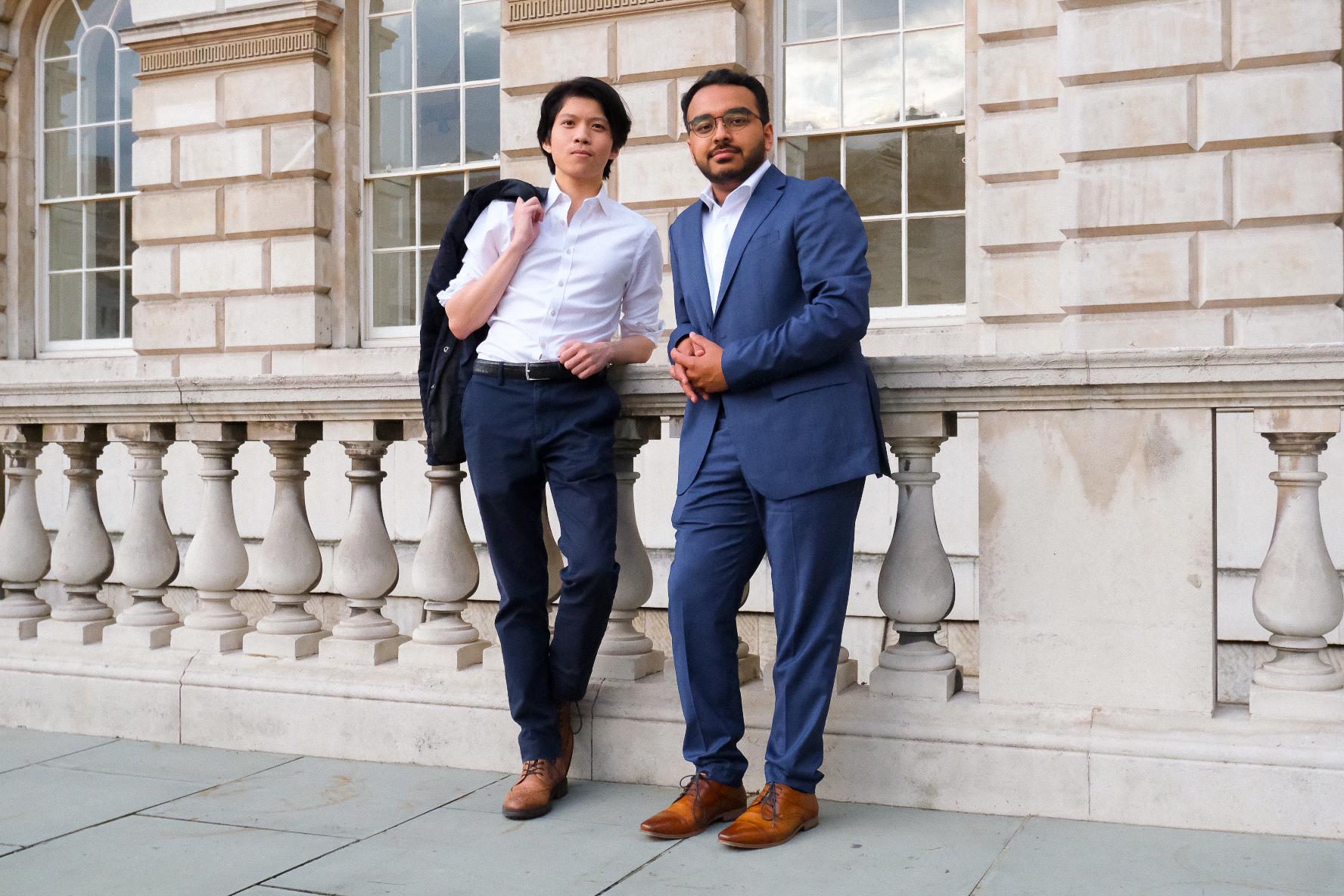 Richard Ou and Aqib Hossain