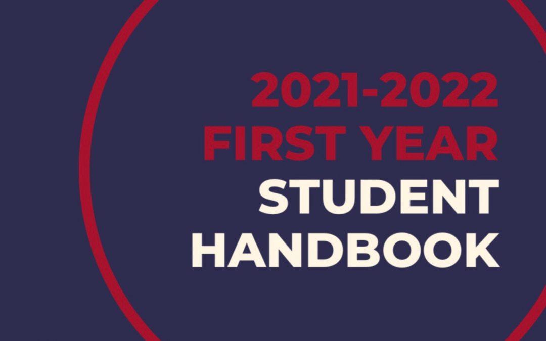 First Year Handbook